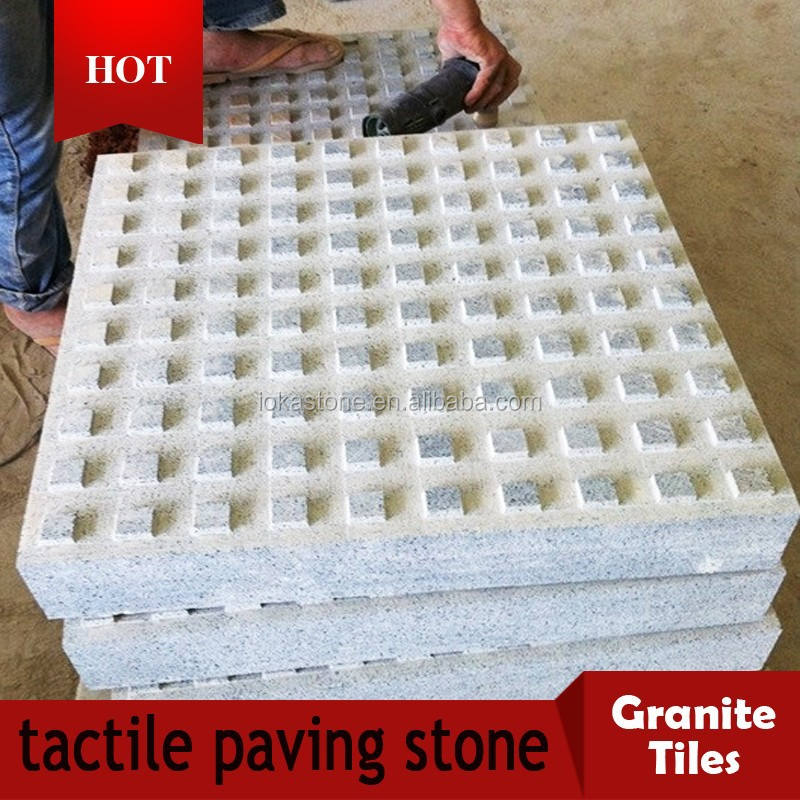 cheap granite tactile floor tiles with factory price