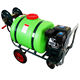 160L portable Hand push Gasoline Garden sprayer set with wheels