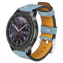Replacement Genuine Leather Watch Band For Samsung Gear S3 Frontier Watch Accessories
