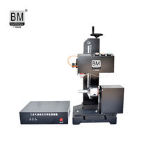 10 Years  Dot Pin Pneumatic Marking Machine for Cast Iron Auto Parts Metal Parts
