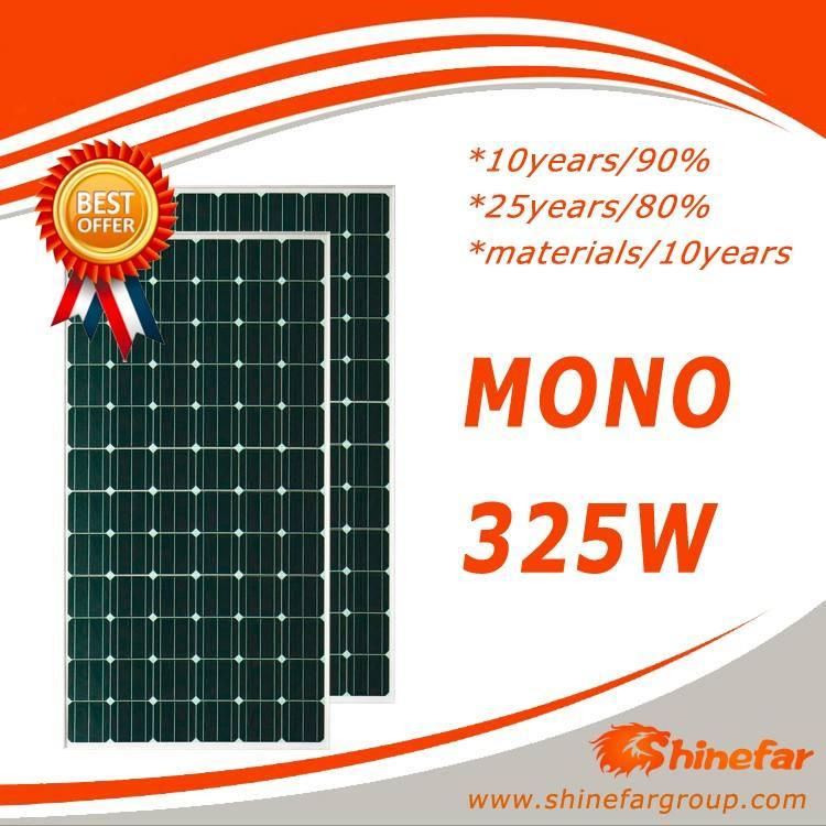 2016 hot yingli solare panel325w per 1 kw kit pannello solare con pannello solare