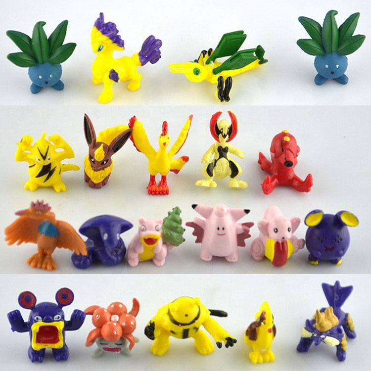 Hot Sale 2-3cm Mini Toy 144 Pokemon PVC Action Figure