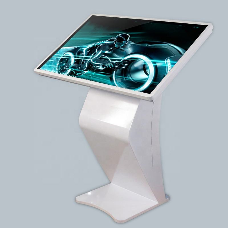 43 inch Free standing LCD display touch screen interactive kiosk pc all in one