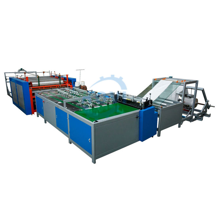 automatic non woven bag printing machine manual flour paper bag cutting sewing making machine