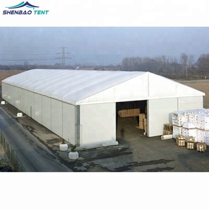 16m Width Aluminum Structure Warehouse Tent With Sandwich Wall