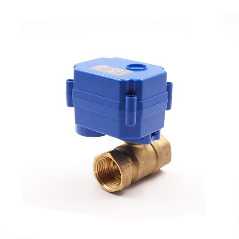 CWX-15Q 3S normally open close ball valve with electric actuator for agricultural irrigation