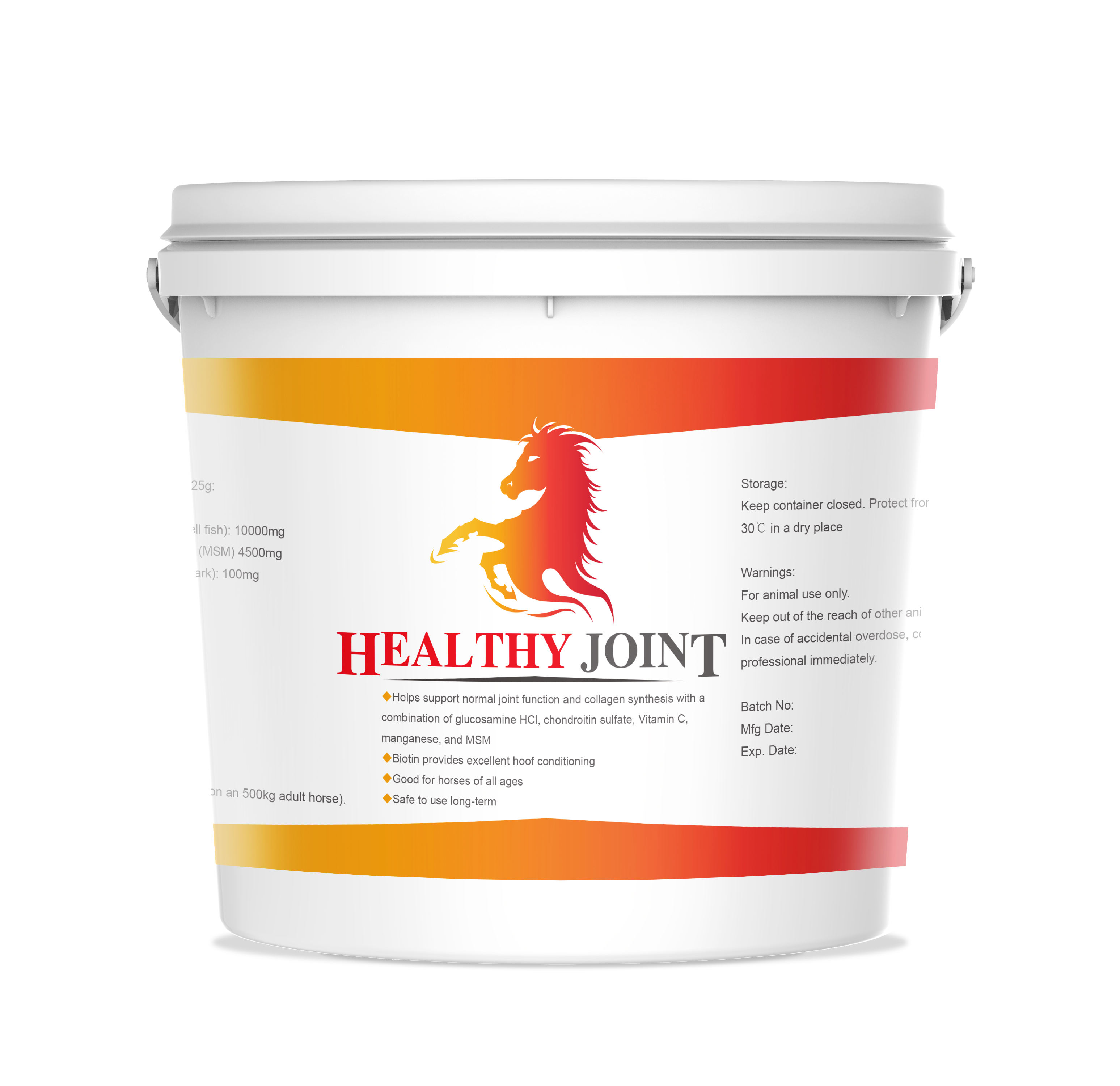 HEALTHY HIP JOINT VITAMIN SUPPLEMENTs FOR HORSE