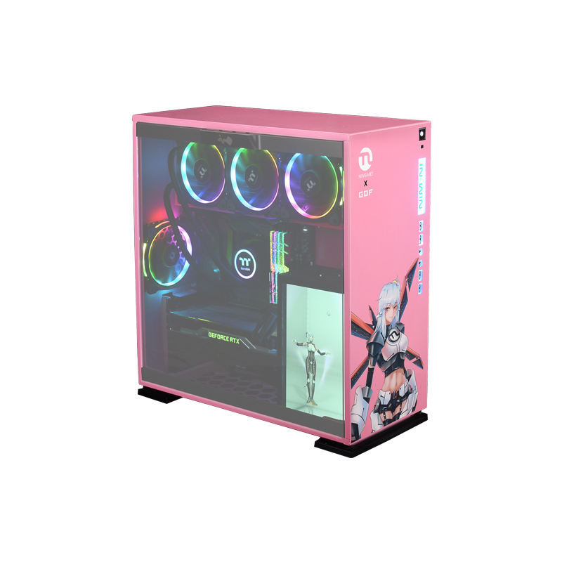 Ningmei i9 9900k/GeForce RTX 2080Ti 256G M.2 SSD Pink Liquid Cooled Overclockable Gaming PC Desktop
