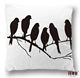 Funky euro black and white pillow covers online custom throw pillow fancy cushions cover