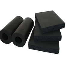 Air conditioning heat insulation rubber plastic foam pipe/tube