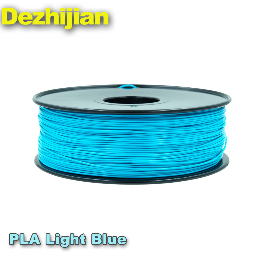 FREE Sample 3D Printer Filament 35 Types 50 Colors 1.75mm 2.85mm 3mm ABS PLA PETG Filament