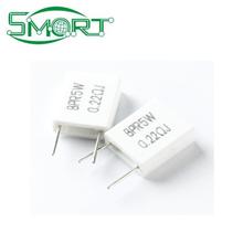 Smart Electronics 5W 0.22 ohm 0.22R BPR56 Non-inductive Ceramic Cement Resistor Electronic Component