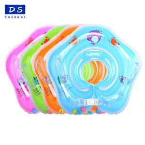 2019 Safety New Inflatable Circle Newborn Neck Float Infant Baby Swimming Swim Ring
