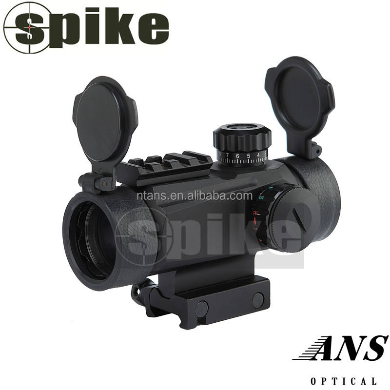 SPIKE Tactical Arma Illuminato Red e Green Dot con Più Reticoli, 35mm