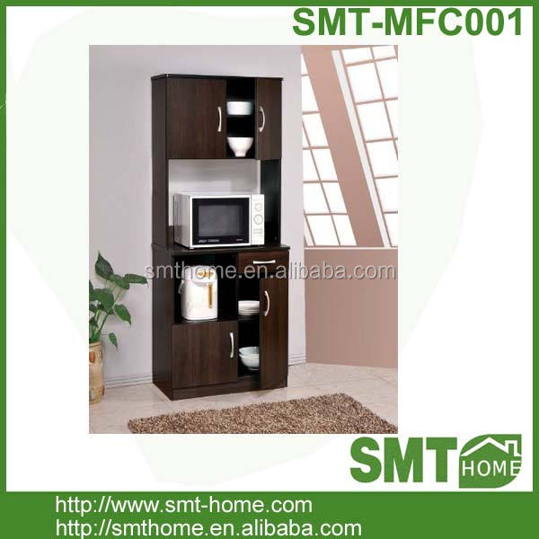 cheap modern MDF microwave/fridge cabinet