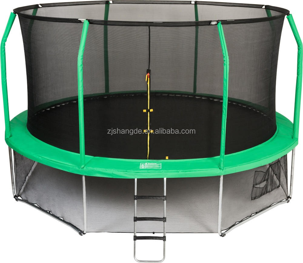 Sundow 14Ft Outdoor Trampoline,Wholesale Discount Trampoline With Enclosure