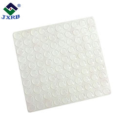 Adhesive anti-slip foot pad, non slip pad silicone rubber pads for furniture