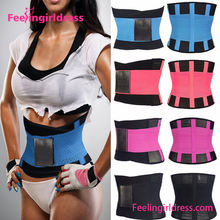 Customized Logo Exercise Slimming Trimmer Weight Loss Waist Back Support Belt