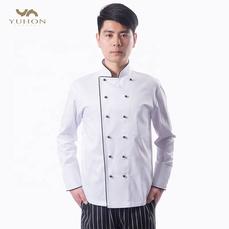 Basic Fit Chef <span class=keywords><strong>Jas</strong></span>, Premium Katoen Twill goedkope chef <span class=keywords><strong>jas</strong></span>, korte mouw designer chef jassen