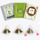 Empty Large Biodegradable Non Woven Tea Bag Cotton Filter Paper Nylon Triangle Pyramid Filter Herbal Tea Envelope Teabag Bags
