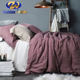 NEW Design Pure 100% pure linen bedding set flax 100% Sheet Sets