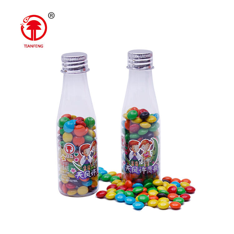 wholesale delicious crispy candy beans names for chocolates choco bottle bean chocolate bean