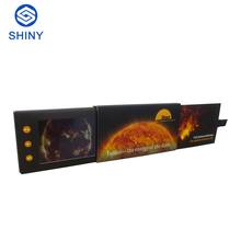 New Design LED Video Greeting Card 2.4 Inch LCD Screen Video Brochure A4/A5 Size Video Business Card With 256MB Memory