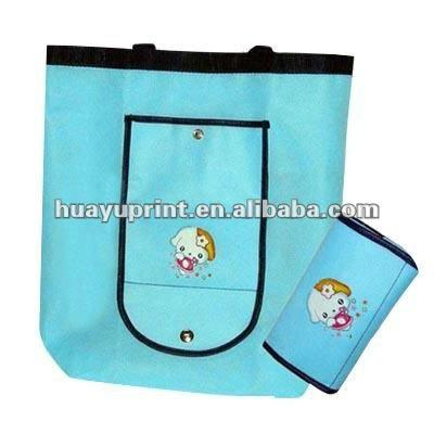 fashion fabric Non-woven Shopping tote Bag