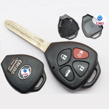 4 Buttons Smart car key cover for car key Car Key Shell Case Fob fits Corolla Camry Matrix Yaris RAV4
