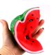 2018 Wholesale Free Super Cheap Squishies Watermelon Soft Squishy Slow Rising Supplier Stress Foam Relief Soft Toys Bouncy Balls