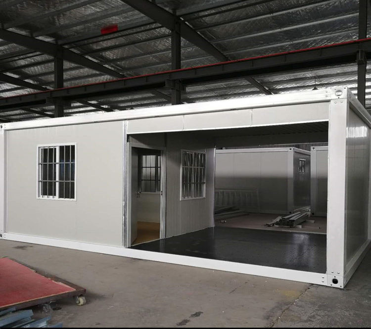 Mobile security guard house sentry box in prefab houses