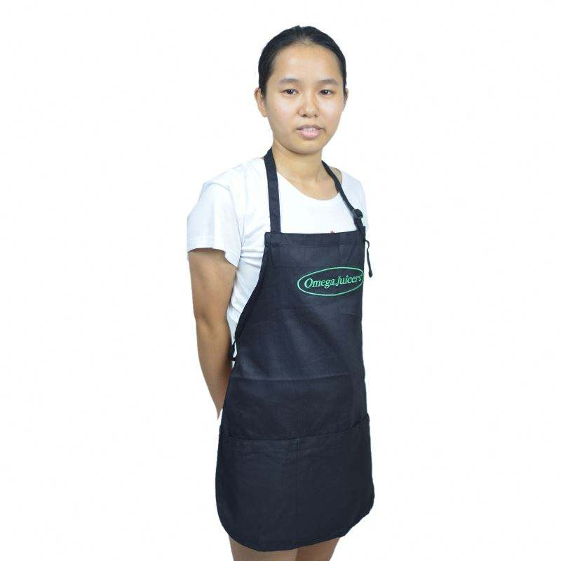 denim kitchen aprons with logo print