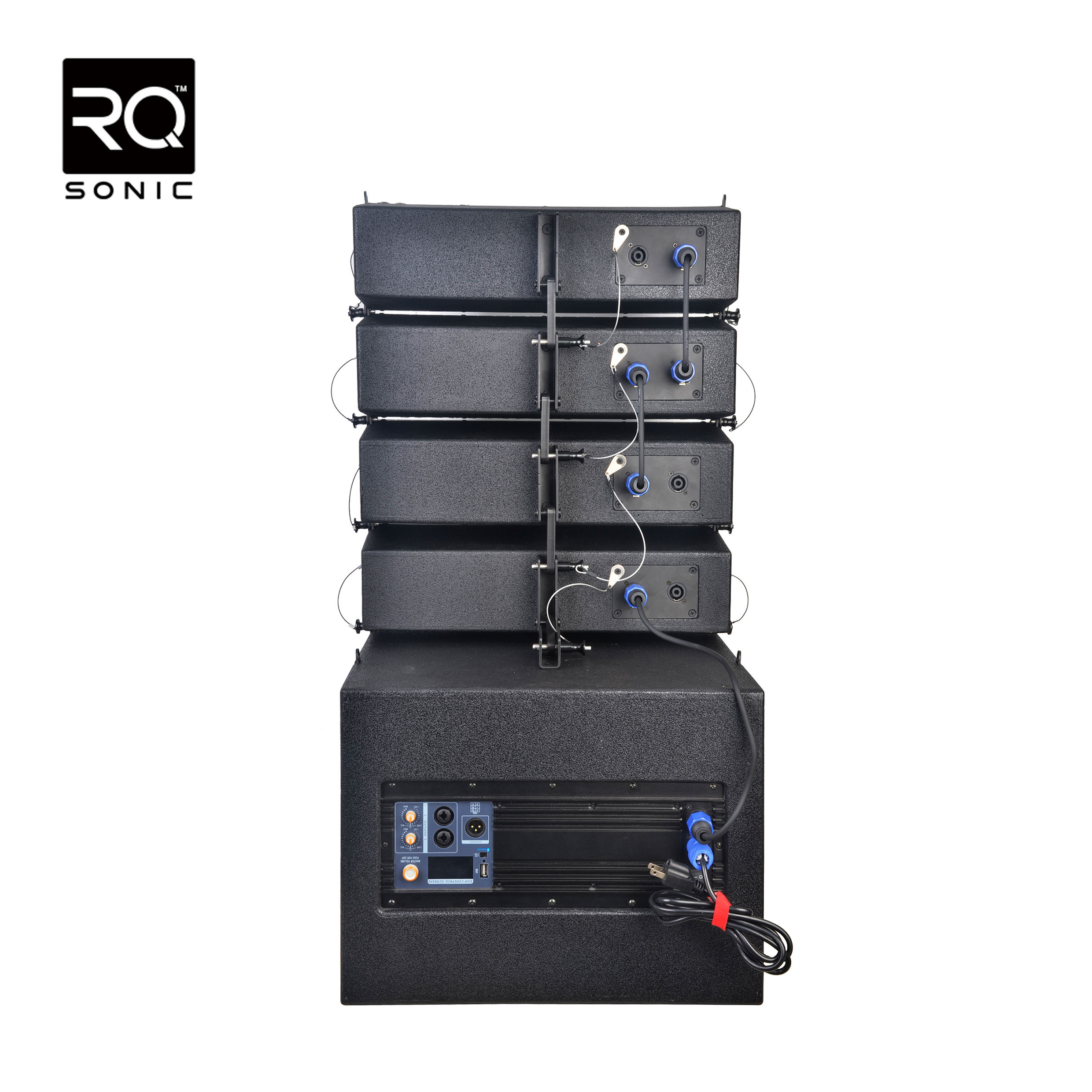 RQSONIC LA412D-KIT New China Pa 1000W Active Concert Stage Line Array Speaker Sound System