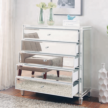 High Quality Modern Mirrored Hall Chest Beside Storage Chest with 3 drawer.