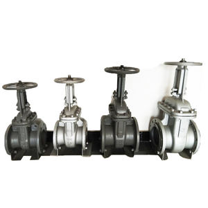 Russian gost cast steel slide gate valve prices