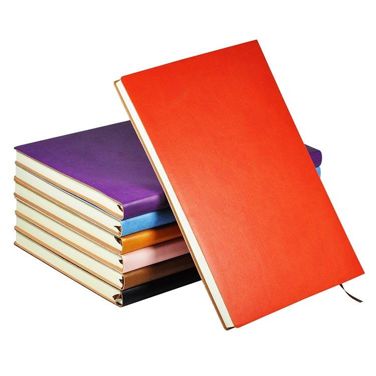 Custom school supplies writing notebook lined softcover diary colorful journal