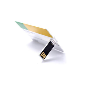 Visitekaartje Usb 2.0 Full Color Printing Populaire Gift Reclame 8Gb Plastic Pendrive 16Gb Credit Card Usb Flash drive
