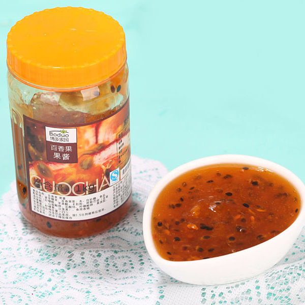 Chinese Best Selling HALAL Certificate Fruit Jam Passion Fruit Flavor