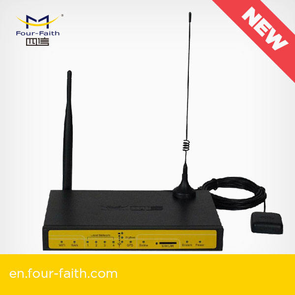 F7434 für remote access control 3g 4g GPS wireless router mit sim karte slot für vending maschine/ ATM in USA