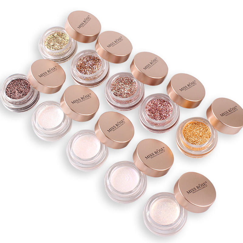 Top Selling Fashion Makeup Eye Shadow Soft Glitter Shimmering Colors Eyeshadow Bling Eye Cosmetic Highlight Eyeshadow NC0881