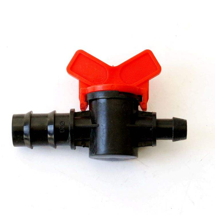 16mm Plastic Material coated socket by pass valves for farm drip irrigation systems