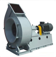 Coupling driven boiler induced draft blower fan