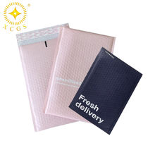 Designs long labels large padded bubble lined poly wrap bubble mailers with bubble linings