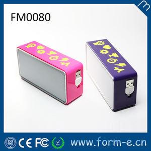taşınabilir profesyonel müzik kutusu mp3 mini hoparlör usb flex kablo