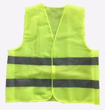 Wholesale 100% Polyester Custom 60g Traffic Road Work Construction Security High Visibility Reflective Safety Vest with Logo