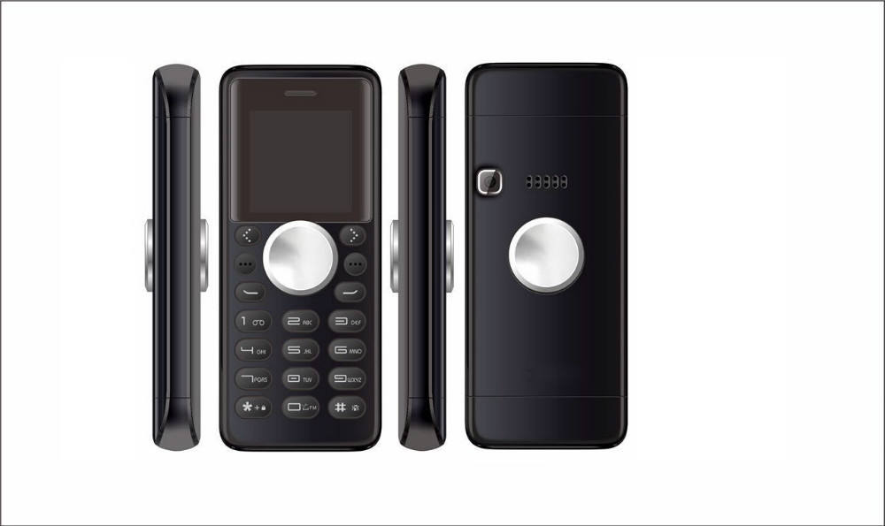 el mini teléfono de tamaño en China 1.3inch teléfono móvil spinable marca de fábrica del oem función de marcación del teléfono m