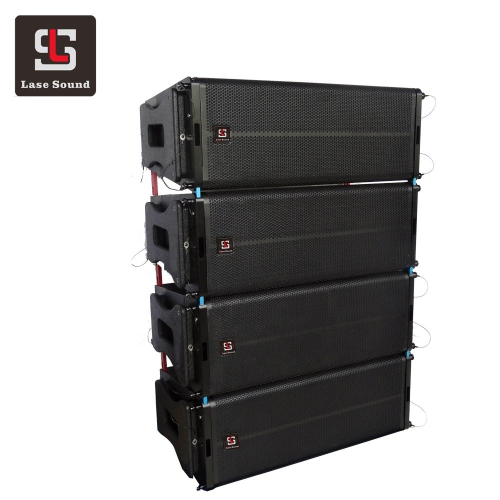 LA-6AD double 12 inch powered line array speaker active pro sound system