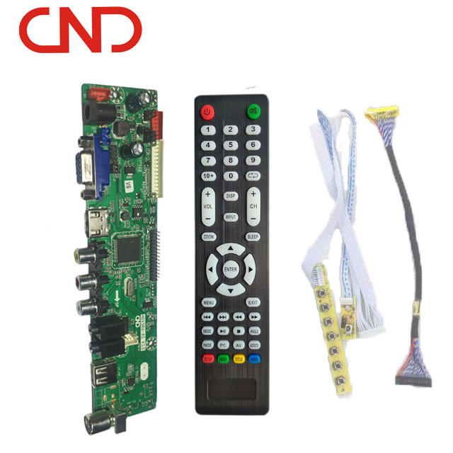 CND HDV56 universal lcd tv main board same function led 56u11.2 board