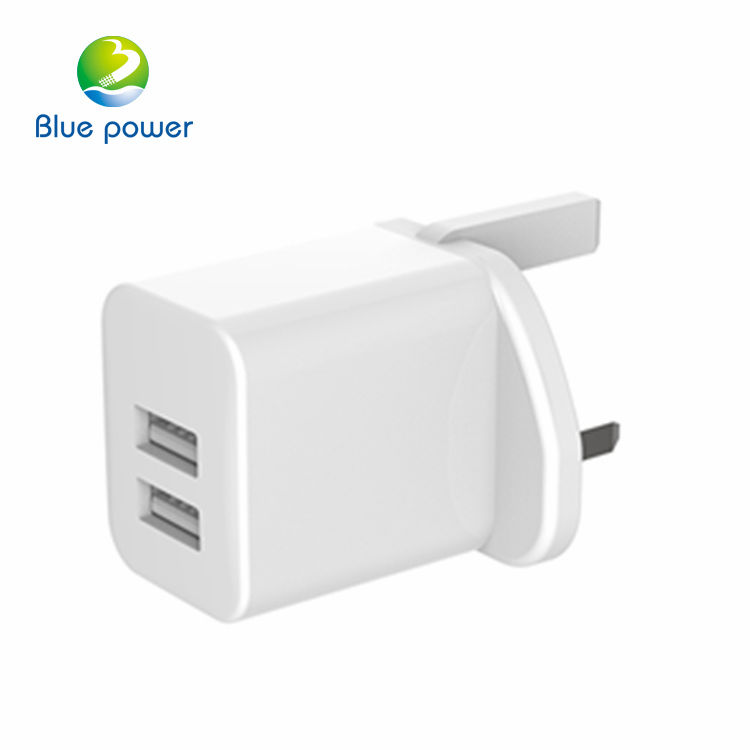 Logo Kustom UK Plug Home Charger CB Guest House Sertifikat Dinding Charger Cepat Travel Charger