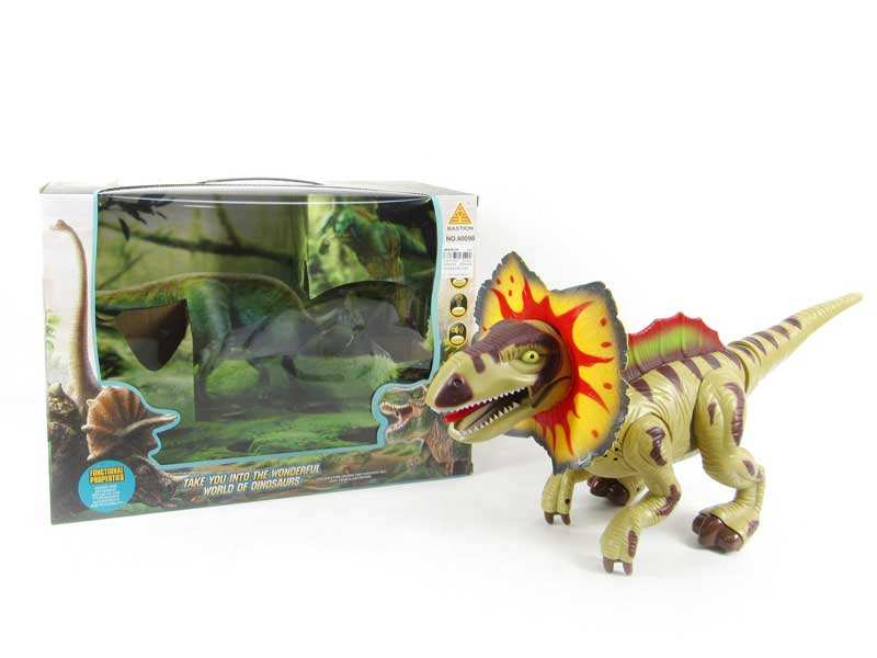 Juguetes al por mayor 2017 new toy battery operated dinosaur toy B/O simulation dinosaur for kids